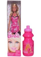 Doll Printed  Dress 1 3 Years+, Barbie fashion doll comes with free water ...