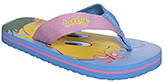 Tweety Shoes - Flip Flop With Coloured Straps