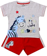 Child World - Half Sleeves T-Shirt and Shorts Set