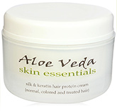 Aloe Veda Silk and Keratin Hair Protein Cream