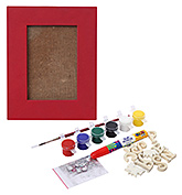 The Bright Side - Do It Yourself Photo Frame Kit Red