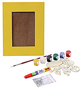 The Bright Side - Do It Yourself Photo Frame Kit Yellow