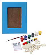 The Bright Side - Do It Yourself Photo Frame Kit  Blue