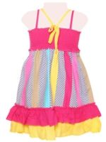 Infancy - Singlet Frock With Frill