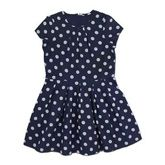 ShopperTree - Cotton Frock White Dots