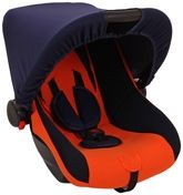 Fab N Funky - Car Seat With Adjustable Canopy