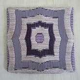 Svapan Abstract Violet Coaster - SVCO AB012SQ