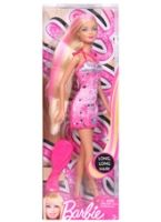 Pink Streaked Blond Long Hair Doll 3 Years+, Fashion And Hair Play For Your Daughter