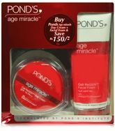Pond's Age Miracle Cell ReGen Day Cream 50 gm And Facial Foam 100 gm