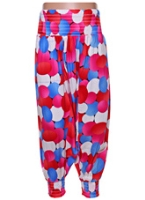 SAPS - Mix Color Print Herem Pants