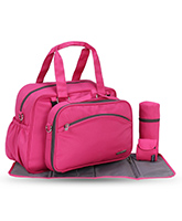 My Milestones - Diaper Bag - Duo Detach Pink