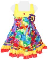 SAPS - Sleeveless Multicolored Party Frock