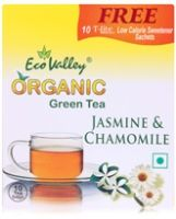 Eco Valley Organic Jasmine and Chamomile Green Tea