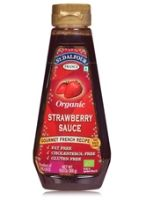 St Dalfour Organic Topping Sauce - Strawberry Flavour