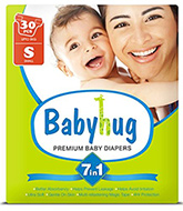 Baby Hug - 7 in 1 Premium Baby Diapers