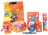Tom and Jerry - STATIONERY SET ORANGE