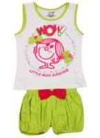 Dora - Sleeveless Top With Shorts Set