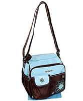 Carter's - Flower Design  Blue Mother Bag