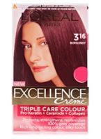 L'Oreal Excellence Creme Triple Care Colour - 316 Burgundy