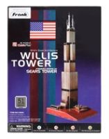 Frank - 3D Puzzle - Cubic Fun - Willis Tower