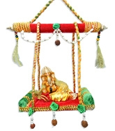 Anant Ganesha On A Swing - HC002