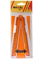 Misaki - Folding Ruler Orange