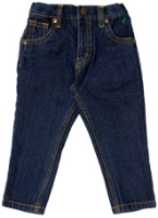 PALM TREE - Fixed Waist Denim Jeans
