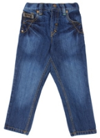Palm Tree - Classic Blue Denim Wash Jeans