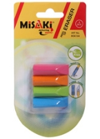 Misaki - Pencil Top Eraser Set