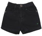 Palm Tree  - Casual Black Shorts