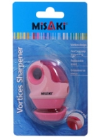 Vortices Sharpener 7 x 5 x 2.5 cm, Cute pink vortices sharpener with ex...