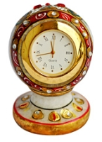 Dharohar Marble Pillar Watch - D MB 008