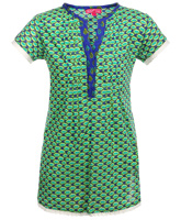 Biba - Short Sleeves Printed Kurta
