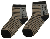 Cute Walk - Striped Sports Socks