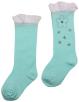 Cute Walk - Socks With Floral Design