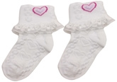 Cute Walk - Socks With Frill And Lace
