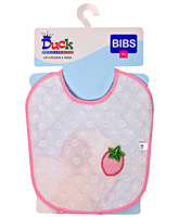 Duck  - Bib White Embroidery