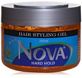 Nova Hard Hold Hair Styling Gel - Aloe Vera