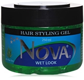 Nova Wet Look Hair Styling Gel - Aloe Vera