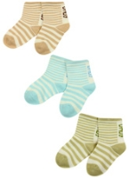 Cute Walk - Strips Print Socks