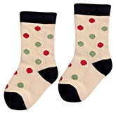 Cute Walk -  Socks With Mulitcolored Dots
