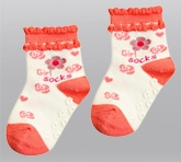 Cute Walk - Floral Design Sock
