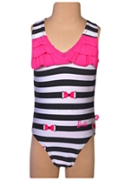 Barbie - OnePiece Striped Swim Suit VCut