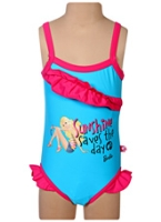 Barbie - Turquoise OnePiece Swim Suit VCut