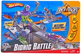 Hot Wheels  - Trick Tracks Bionic Battle Sets