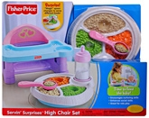 Fisher Price - Servin' Surprises High Chair Set