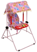 New Natraj - Giraffe Print Cozy Pink Room Swing