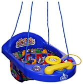 New Natraj - Blue Activity Swing Rabbit Print