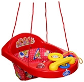 New Natraj - Teddy Print Activity Swing