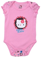 Hello Kitty - Short Sleeves Cat Printed Printed Onsies